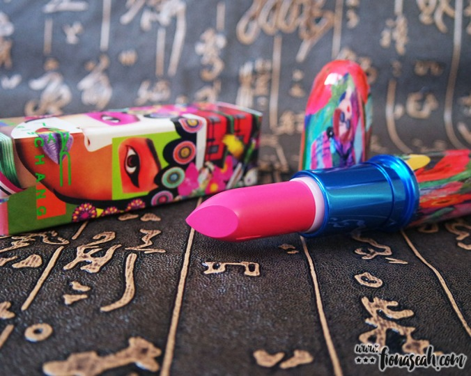 M.A.C X Chris Chang of Poesia lipstick in Dddevilish (US$20 / S$37)
