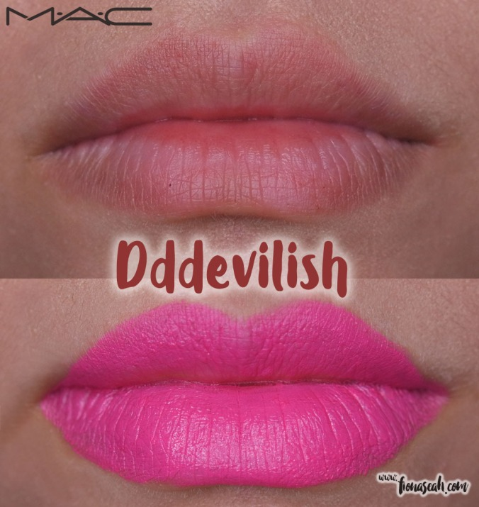 M.A.C X Chris Chang of Poesia lipstick in Dddevilish