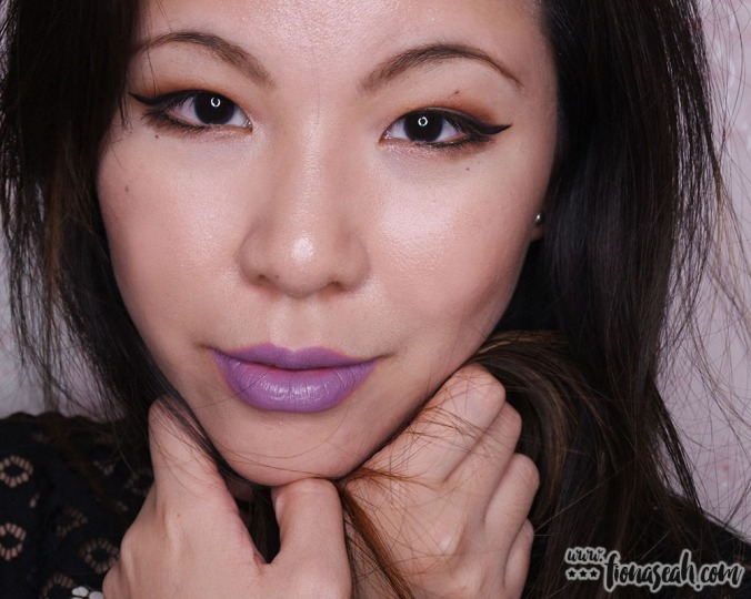 M.A.C X Chris Chang of Poesia lipstick in Plum Princess
