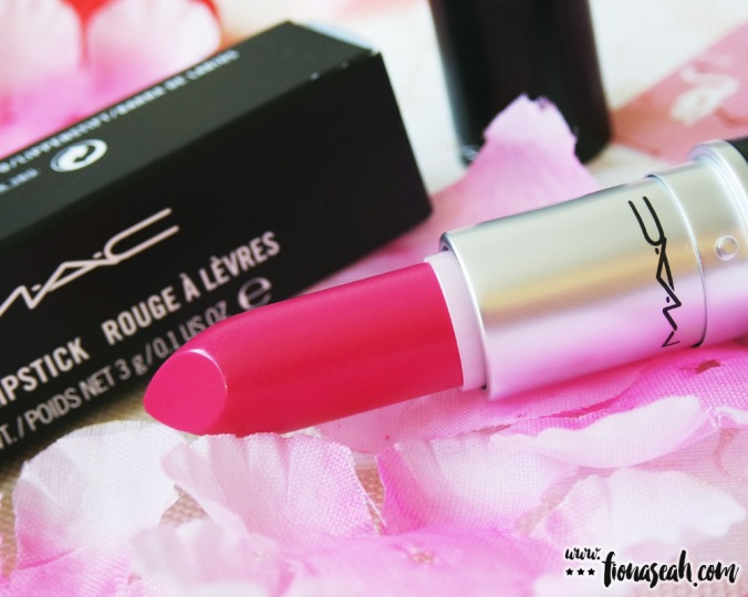 M.A.C Fashion Pack lipstick in Aim For Gorgeous (US$17 / S$31)