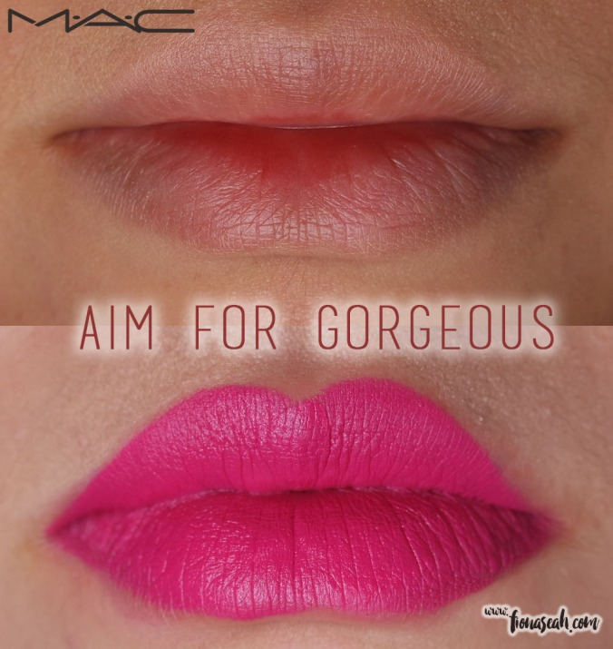 M.A.C Fashion Pack lipstick in Aim For Gorgeous