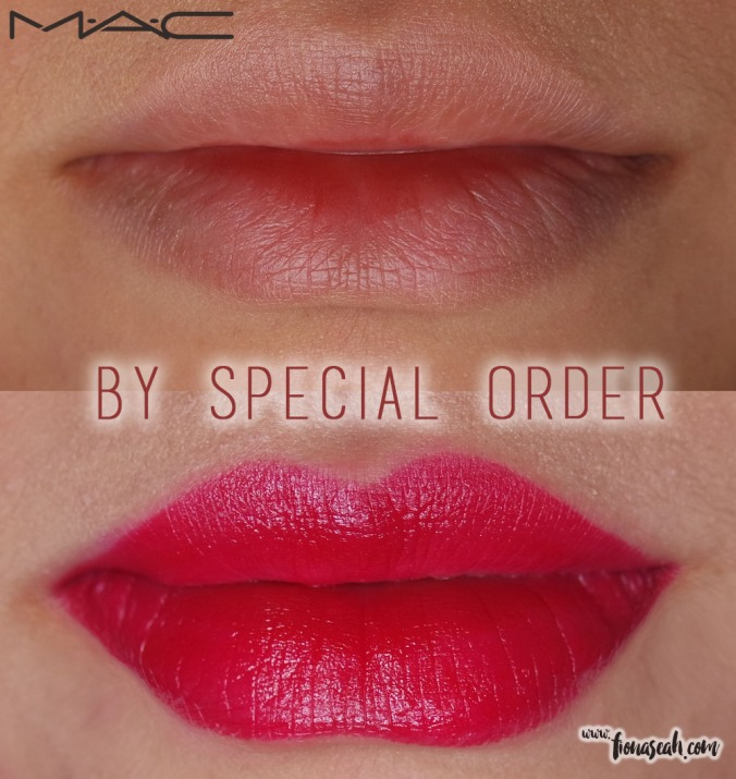 M.A.C Fashion Pack lipstick in By Special Order