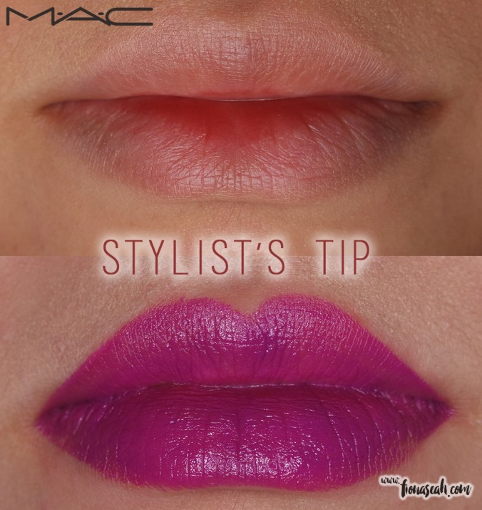 M.A.C Fashion Pack lipstick in Stylist's Tip