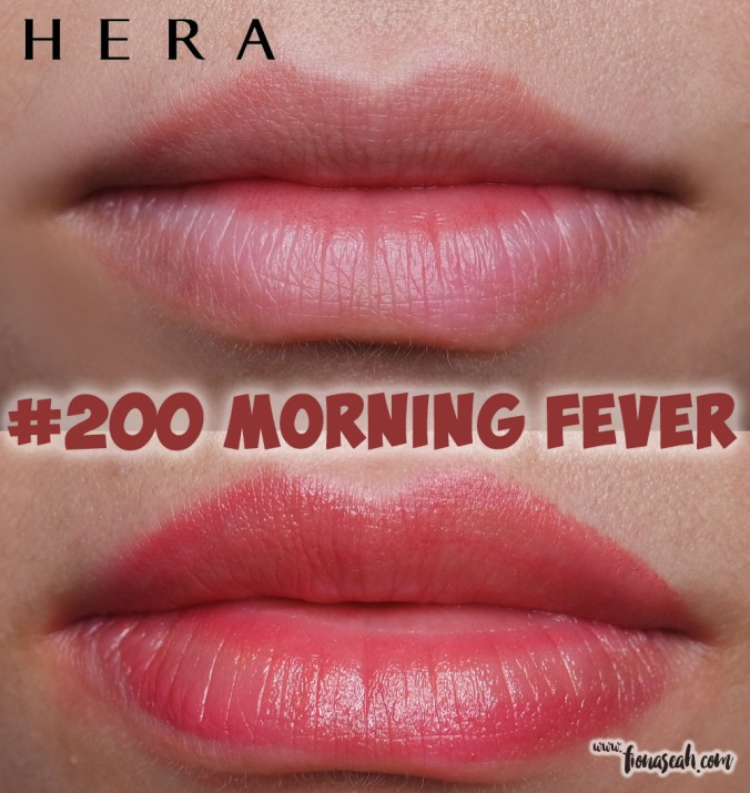HERA Sensual Rouge in #200 Morning Fever