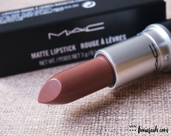 M.A.C Colour Rocker lipstick in Cold Hard Cash (US$17 / S$33)