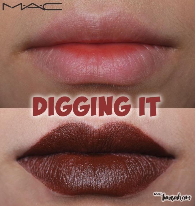 M.A.C Colour Rocker lipstick in Digging It
