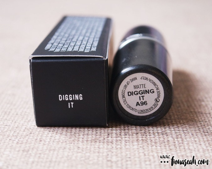 M.A.C Colour Rocker lipstick in Digging It