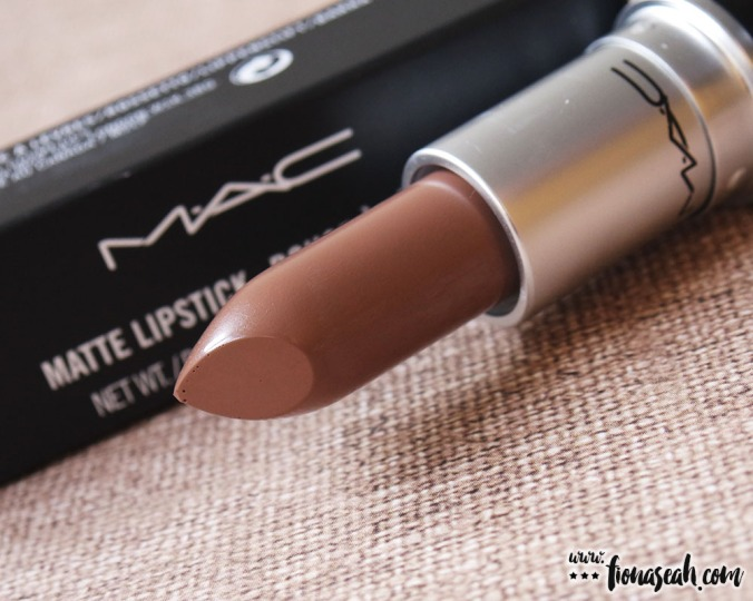 M.A.C Colour Rocker lipstick in Gritty Girl (US$17 / S$33)