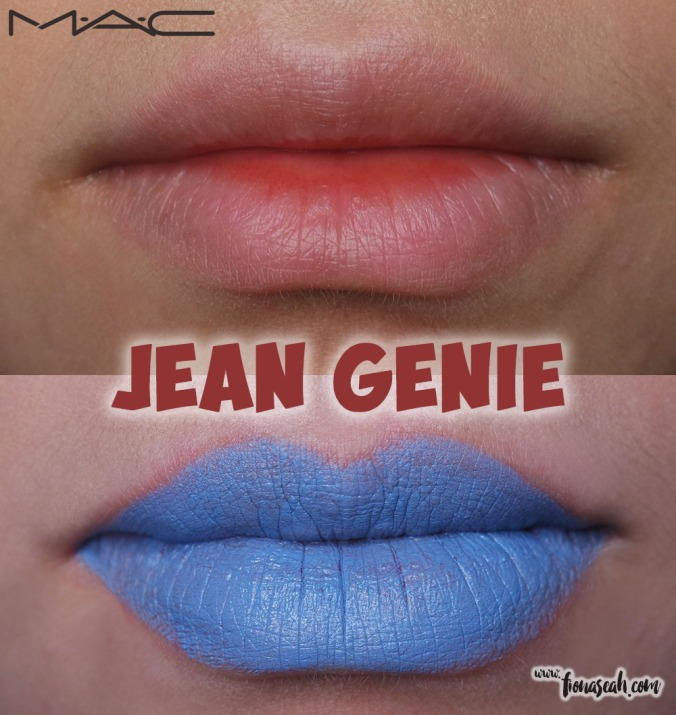 M.A.C Colour Rocker lipstick in Jean Genie