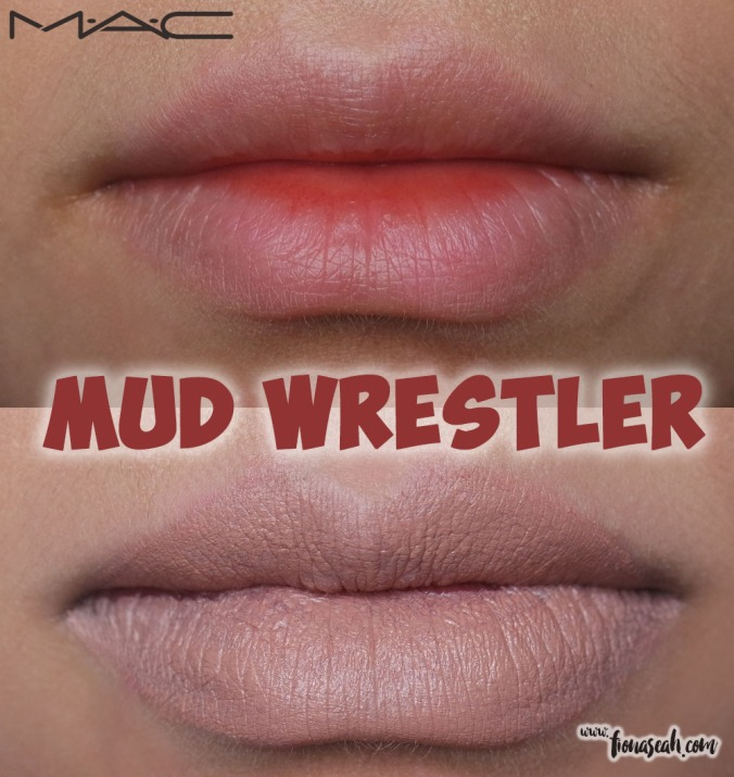 M.A.C Colour Rocker lipstick in Mud Wrestler