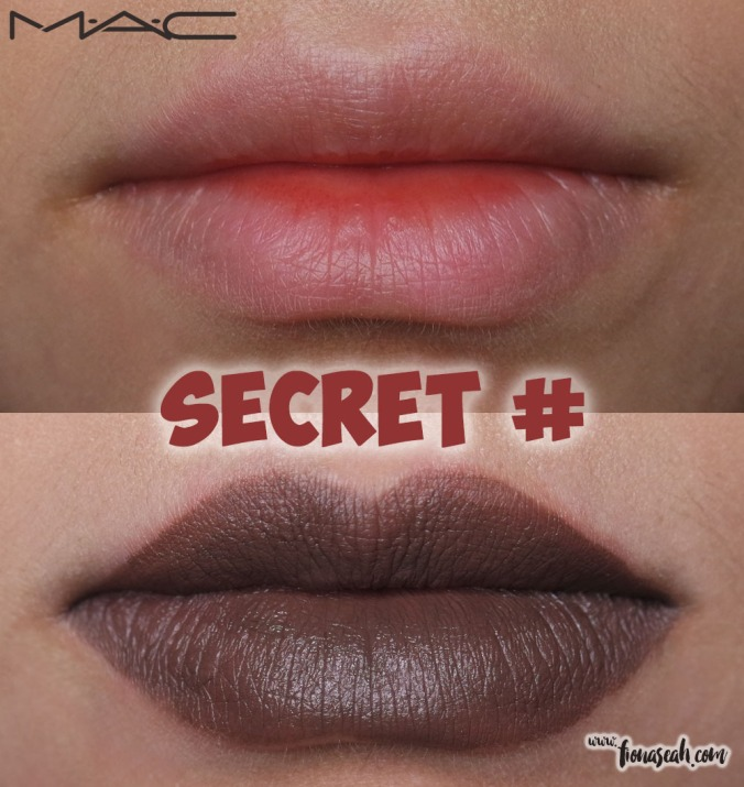 M.A.C Colour Rocker lipstick in Secret #