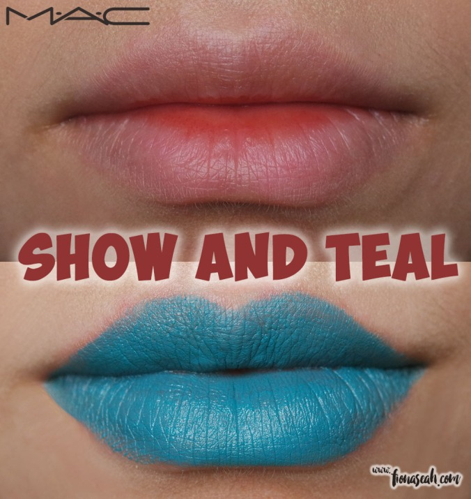 M.A.C Colour Rocker lipstick in Show And Teal