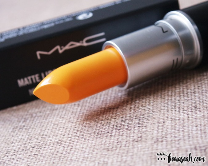 M.A.C Colour Rocker lipstick in Yellow You Dare? (US$17 / S$33)