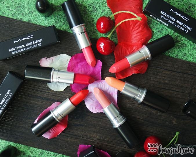 M.A.C Blue Nectar lipsticks