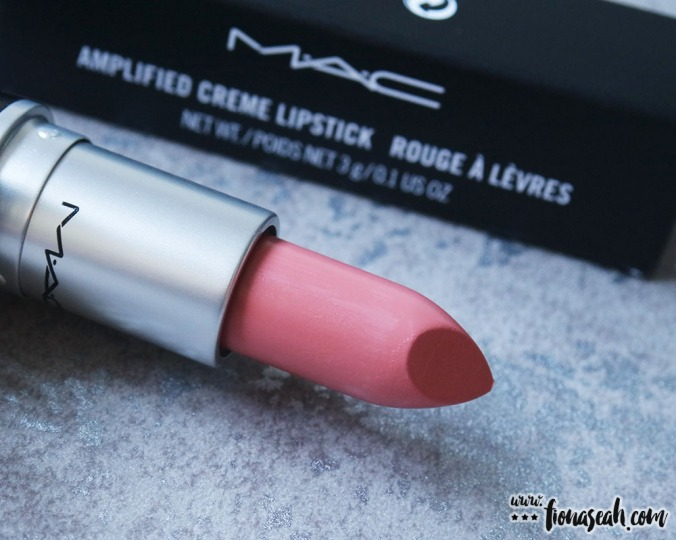 M.A.C Blue Nectar lipstick in Give In (US$17)