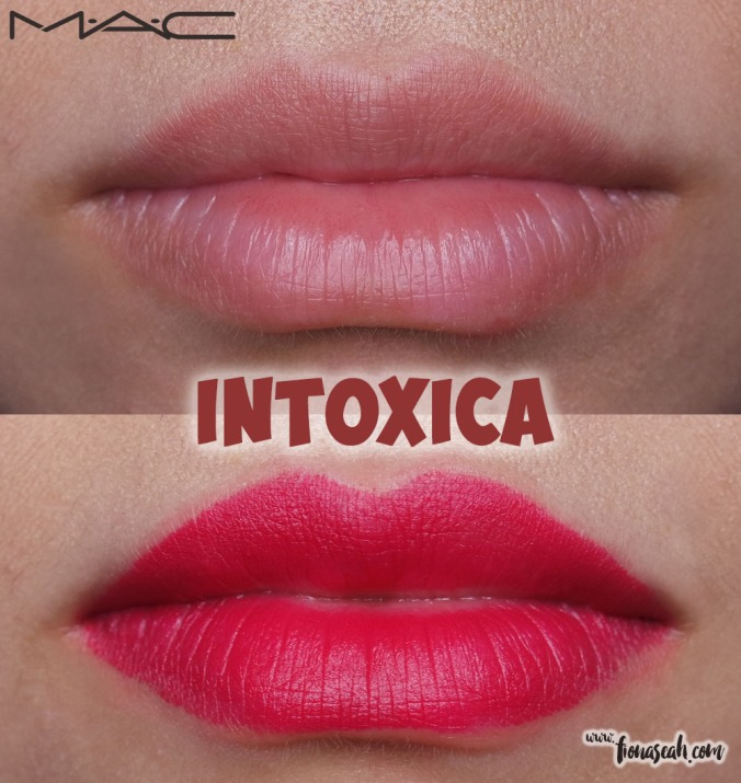 M.A.C Blue Nectar lipstick in Intoxica