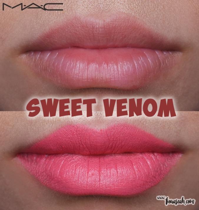 M.A.C Blue Nectar lipstick in Sweet Venom
