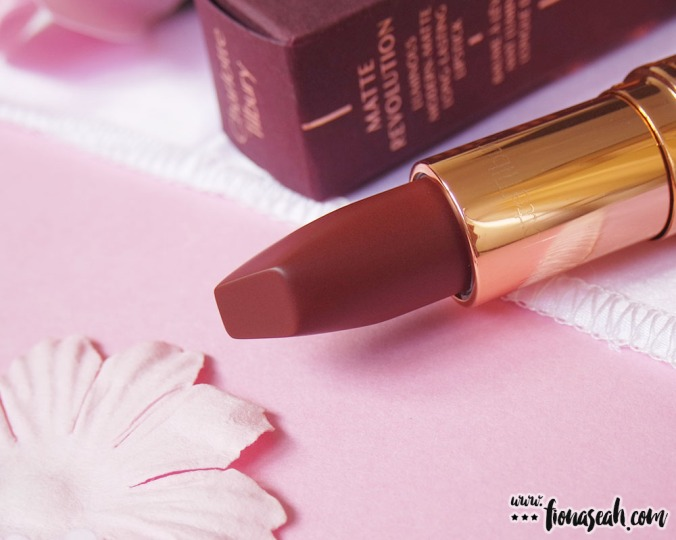 Charlotte Tilbury Matte Revolution Lipstick in Birkin Brown