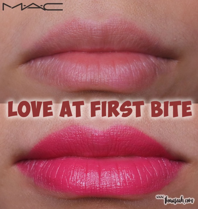 M.A.C Fruity Juicy Lipstick in Love At First Bite