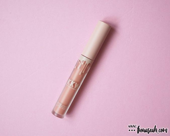 KKW X Kylie Cosmetics Créme Liquid Lipstick in Kiki