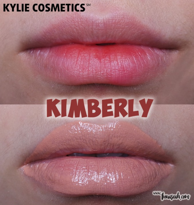 KKW X Kylie Cosmetics Créme Liquid Lipstick in Kimberly