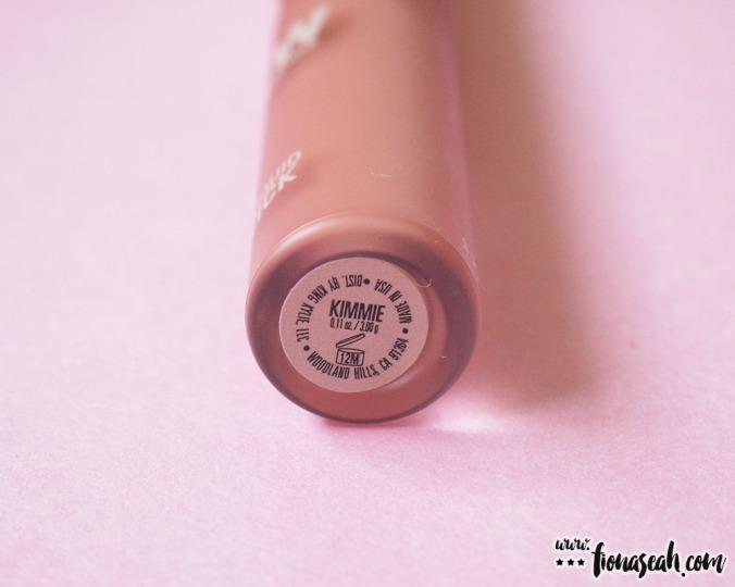 KKW X Kylie Cosmetics Créme Liquid Lipstick in Kimmie
