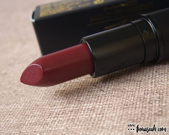 M.A.C X James Kaliardos Lipstick in Jasper (US$17)