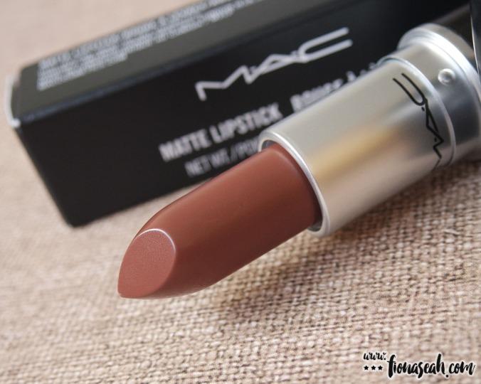 M·A·C Kiesza Lipstick in Dearly Beloved (US$17)