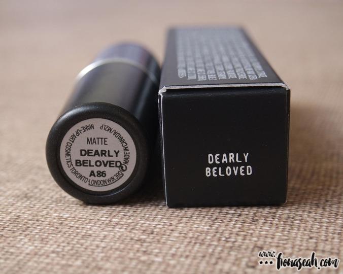 M·A·C Kiesza Lipstick in Dearly Beloved