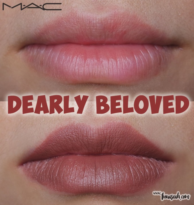 M·A·C Kiesza Lipstick in Dearly Beloved