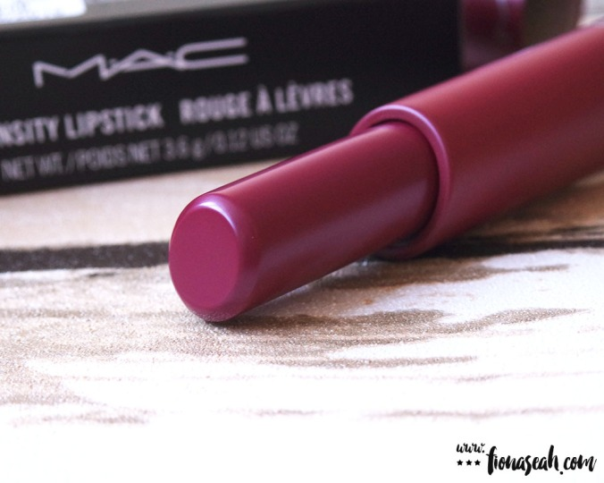 M.A.C Liptensity Lipstick in Marsala (US$21 / S$39)