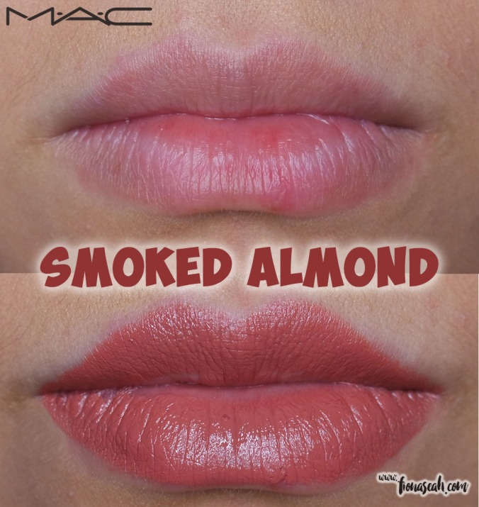 M.A.C Liptensity Lipstick in Smoked Almond