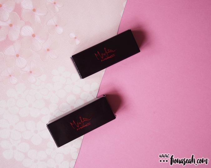 M.A.C X Min Liu lipsticks