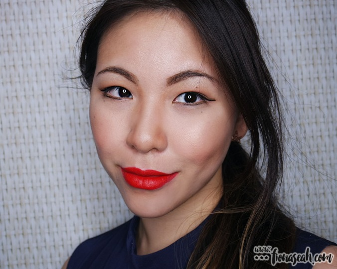 M.A.C X Min Liu lipstick in Dynasty Red
