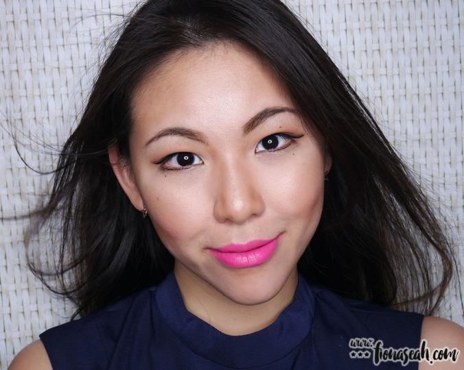 M.A.C X Min Liu lipstick in Peach Blossom Pink