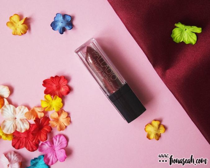 Palladio Velvet Matte Metallic Cream Lip Color in Brilliant (US$8.00 / S$11.90)