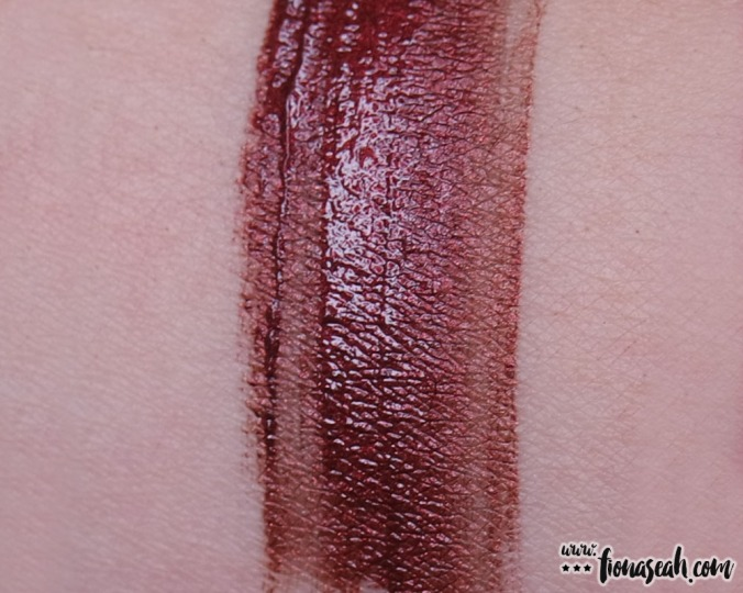 Palladio Velvet Matte Metallic Cream Lip Color in Brilliant