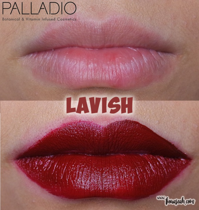 Palladio Velvet Matte Metallic Cream Lip Color in Lavish
