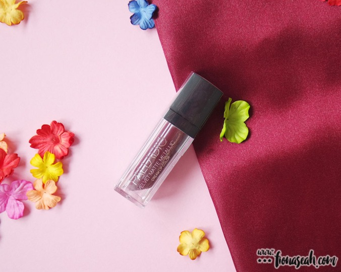 Palladio Velvet Matte Metallic Cream Lip Color in Opulent (US$8.00 / S$11.90)