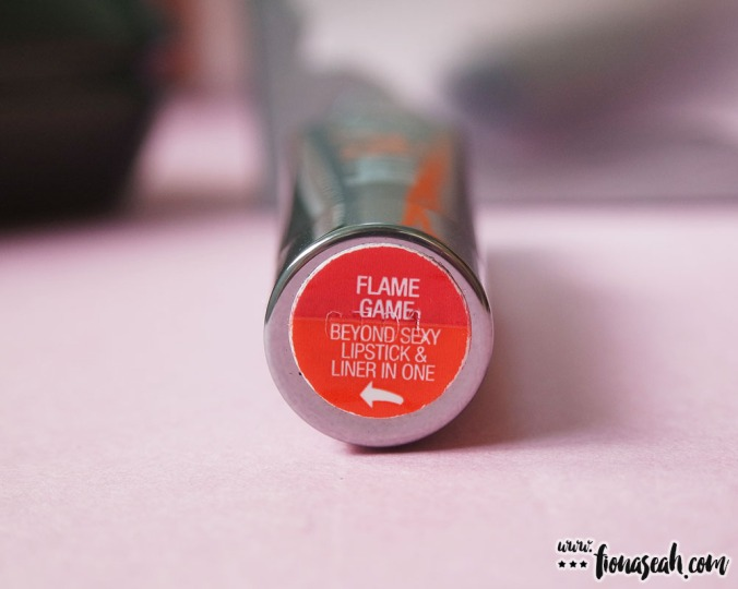 they're real BIG sexy lipstick set - Flame Game