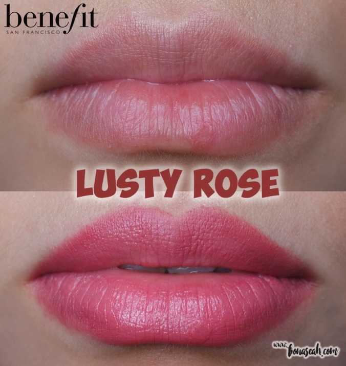 they're real BIG sexy lipstick set - Lusty Rose