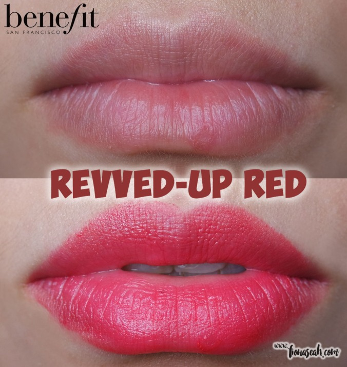 they're real BIG sexy lipstick set - Revved-Up Red