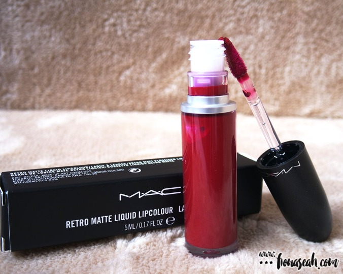 Review Mac Cosmetics Retro Matte Liquid Lipcolour  To -5051