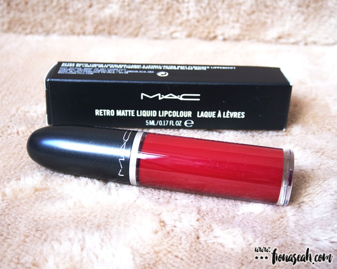 M·A·C Retro Matte Liquid Lipcolour in Dance With Me (US$21 / S$39)