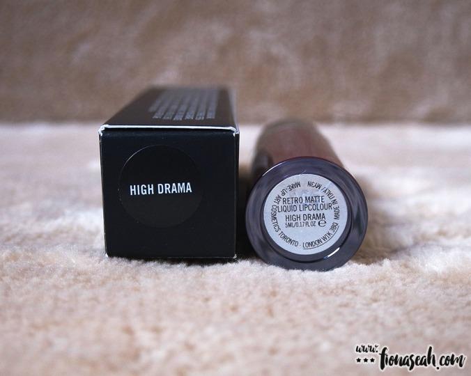 M·A·CRetro Matte Liquid Lipcolour in High Drama
