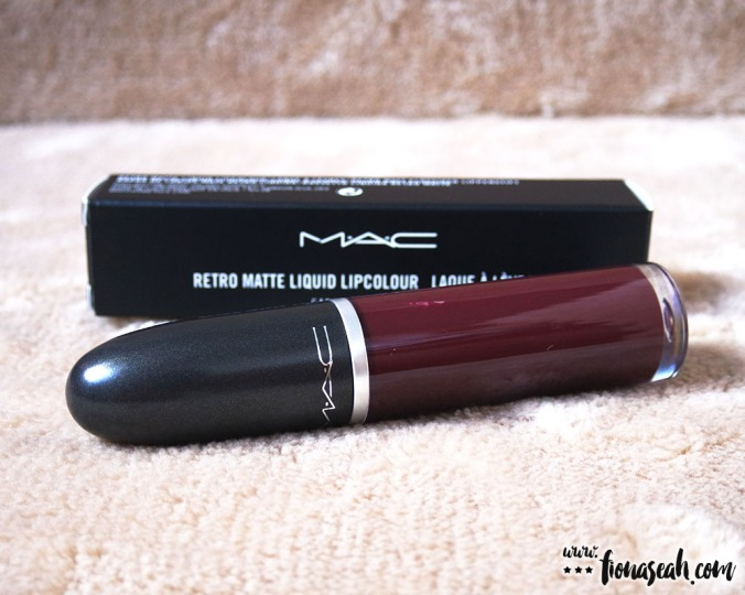 M·A·C Retro Matte Liquid Lipcolour in High Drama (US$21 / S$39)