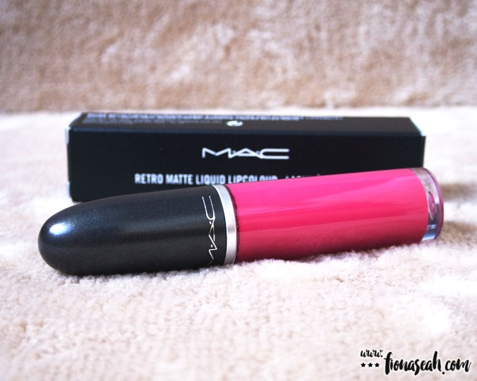 M·A·C Retro Matte Liquid Lipcolour in To Matte With Love (US$21 / S$39)