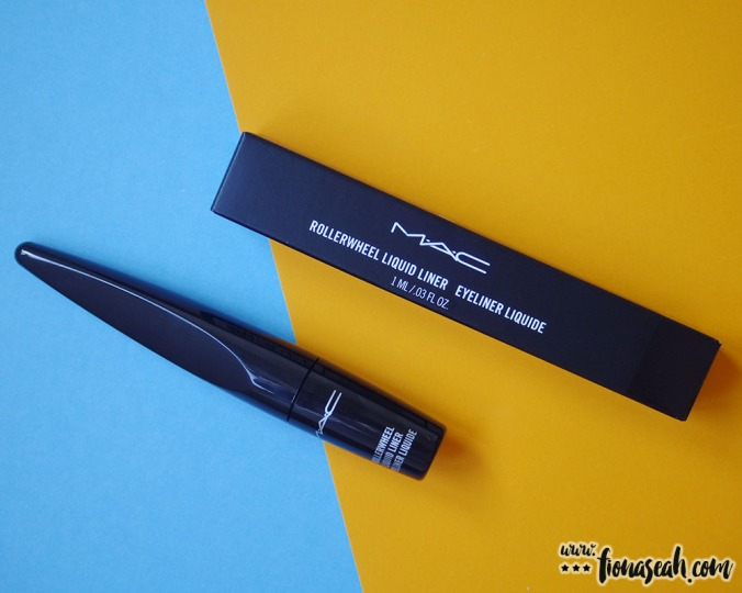 M·A·C Rollerwheel Liquid Liner in Rollin' Black Shine (US$21 / S$36)