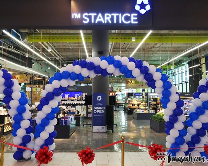 I'M STARTICE main entrance