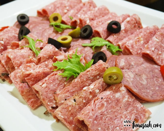 Cold cut salami